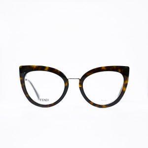 Oprawki-brązowe-Fendi_kocie-kobieta