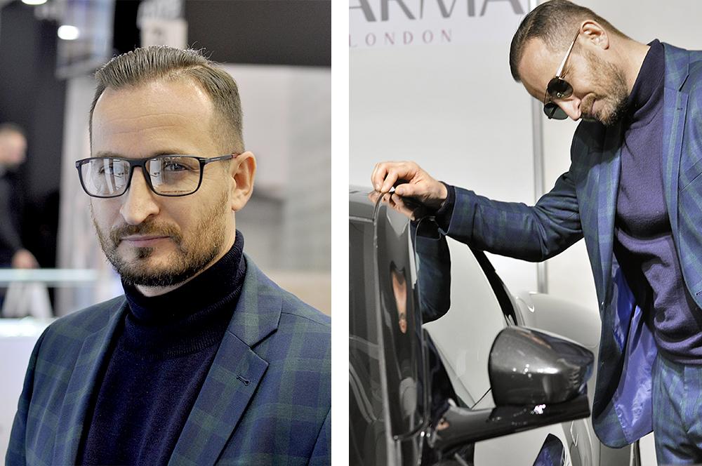 Okulary Aston Martin
