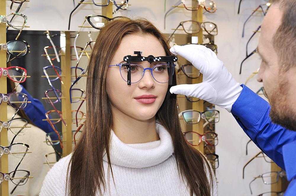 urzadzenie do pomiaru okularow progresywnych