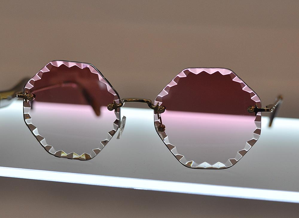 różowe okulary chloe
